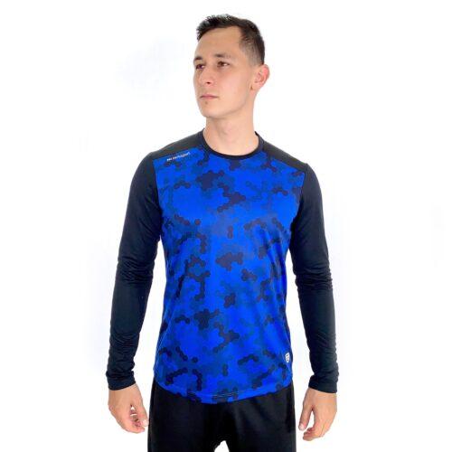 T-Shirt Print Azul