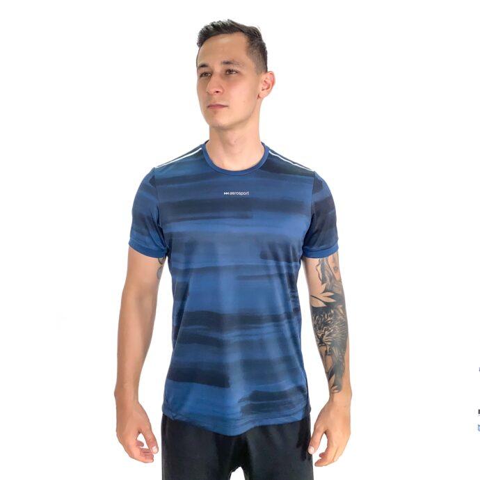 T-Shirt Stroke Azul